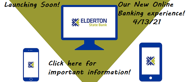 New Online Banking experience...4/13/21
